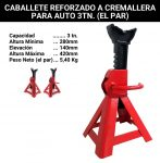 (OF) CABALLETE PARA AUTOMOTOR 3TN (EL PAR)