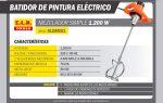 MEZCLADOR ELECTRICO 2V 50HZ 1200W HM30 KLD