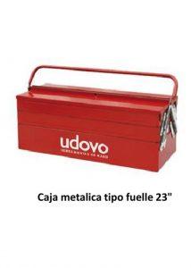 CAJA METALLICA TIPO FUELLE 23″ (55X20X21) UDOVO